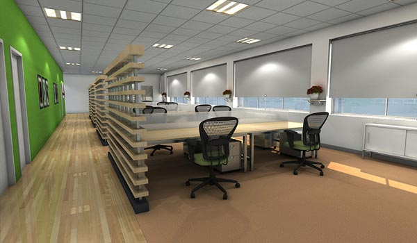 Private Office 3D Animation