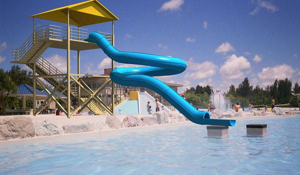Waterpark 3D Visualization Model