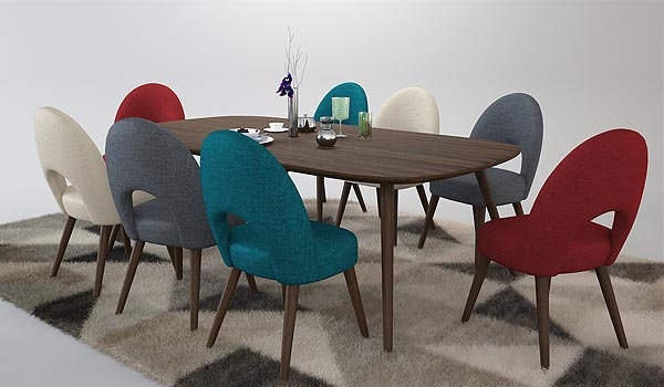 Furniture 3D Rendering