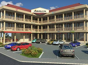 Building 3D Rendered View